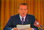 Image of Richard Nixon Washington DC USA, 1973, second 45 stock footage video 65675073679