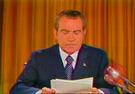 Image of Richard Nixon Washington DC USA, 1973, second 46 stock footage video 65675073679