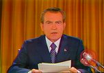 Image of Richard Nixon Washington DC USA, 1973, second 47 stock footage video 65675073679