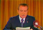 Image of Richard Nixon Washington DC USA, 1973, second 51 stock footage video 65675073679