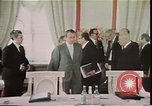 Image of Anti-Ballistic Missile Treaty signed Moscow Russia Soviet Union, 1972, second 53 stock footage video 65675073696