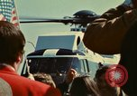 Image of Marine One helicopter Saginaw Michigan USA, 1974, second 25 stock footage video 65675073724