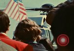 Image of Marine One helicopter Saginaw Michigan USA, 1974, second 28 stock footage video 65675073724