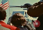 Image of Marine One helicopter Saginaw Michigan USA, 1974, second 30 stock footage video 65675073724