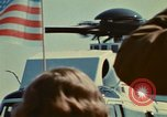 Image of Marine One helicopter Saginaw Michigan USA, 1974, second 32 stock footage video 65675073724