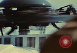 Image of Marine One helicopter Saginaw Michigan USA, 1974, second 42 stock footage video 65675073724
