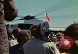Image of Marine One helicopter Saginaw Michigan USA, 1974, second 53 stock footage video 65675073724