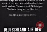 Image of Hjalmar Schacht Berlin Germany, 1935, second 3 stock footage video 65675073780