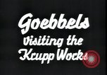 Image of Joseph Goebbels Germany, 1934, second 5 stock footage video 65675073853
