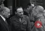 Image of Alexander Patch Augsburg Germany, 1945, second 21 stock footage video 65675073854