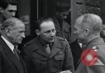 Image of Alexander Patch Augsburg Germany, 1945, second 24 stock footage video 65675073854