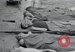 Image of emaciated corpses Germany, 1945, second 2 stock footage video 65675073860