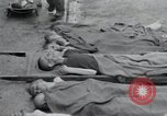 Image of emaciated corpses Germany, 1945, second 8 stock footage video 65675073860