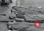 Image of emaciated corpses Germany, 1945, second 10 stock footage video 65675073860