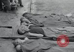 Image of emaciated corpses Germany, 1945, second 11 stock footage video 65675073860