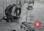Image of emaciated corpses Germany, 1945, second 17 stock footage video 65675073860