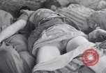 Image of dead bodies of inmates Germany, 1945, second 24 stock footage video 65675073862