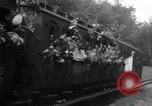 Image of Train filled with liberated Jewish orphans of Buchenwald Concentration Weimar Germany, 1945, second 42 stock footage video 65675073865