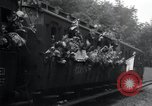 Image of Train filled with liberated Jewish orphans of Buchenwald Concentration Weimar Germany, 1945, second 43 stock footage video 65675073865