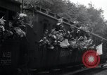 Image of Train filled with liberated Jewish orphans of Buchenwald Concentration Weimar Germany, 1945, second 46 stock footage video 65675073865