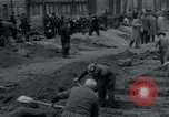 Image of German civilians bury Wobbelin victims Ludwigslust Germany, 1945, second 8 stock footage video 65675073877