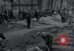 Image of German civilians bury Wobbelin victims Ludwigslust Germany, 1945, second 10 stock footage video 65675073877