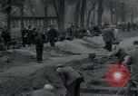 Image of German civilians bury Wobbelin victims Ludwigslust Germany, 1945, second 13 stock footage video 65675073877