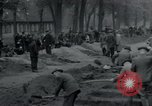 Image of German civilians bury Wobbelin victims Ludwigslust Germany, 1945, second 14 stock footage video 65675073877