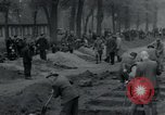 Image of German civilians bury Wobbelin victims Ludwigslust Germany, 1945, second 15 stock footage video 65675073877