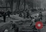 Image of German civilians bury Wobbelin victims Ludwigslust Germany, 1945, second 16 stock footage video 65675073877