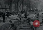 Image of German civilians bury Wobbelin victims Ludwigslust Germany, 1945, second 19 stock footage video 65675073877