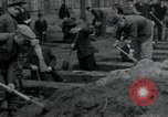 Image of German civilians bury Wobbelin victims Ludwigslust Germany, 1945, second 26 stock footage video 65675073877