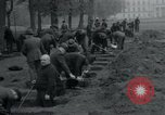 Image of German civilians bury Wobbelin victims Ludwigslust Germany, 1945, second 39 stock footage video 65675073877