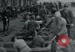 Image of German civilians bury Wobbelin victims Ludwigslust Germany, 1945, second 43 stock footage video 65675073877