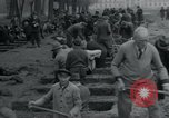 Image of German civilians bury Wobbelin victims Ludwigslust Germany, 1945, second 48 stock footage video 65675073877