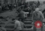 Image of German civilians bury Wobbelin victims Ludwigslust Germany, 1945, second 50 stock footage video 65675073877