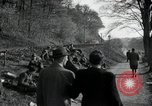 Image of German civilians on east bank of Mulde River Grimma Germany, 1945, second 15 stock footage video 65675073903