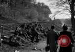 Image of German civilians on east bank of Mulde River Grimma Germany, 1945, second 17 stock footage video 65675073903