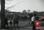 Image of German civilians on east bank of Mulde River Grimma Germany, 1945, second 21 stock footage video 65675073903