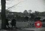 Image of German civilians on east bank of Mulde River Grimma Germany, 1945, second 23 stock footage video 65675073903