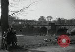 Image of German civilians on east bank of Mulde River Grimma Germany, 1945, second 27 stock footage video 65675073903