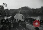 Image of German civilians on east bank of Mulde River Grimma Germany, 1945, second 39 stock footage video 65675073903