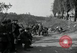 Image of German civilians on east bank of Mulde River Grimma Germany, 1945, second 40 stock footage video 65675073903