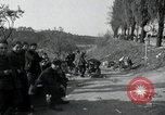 Image of German civilians on east bank of Mulde River Grimma Germany, 1945, second 41 stock footage video 65675073903