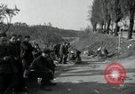 Image of German civilians on east bank of Mulde River Grimma Germany, 1945, second 42 stock footage video 65675073903