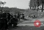Image of German civilians on east bank of Mulde River Grimma Germany, 1945, second 44 stock footage video 65675073903