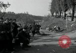 Image of German civilians on east bank of Mulde River Grimma Germany, 1945, second 45 stock footage video 65675073903