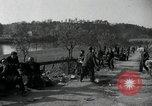 Image of German civilians on east bank of Mulde River Grimma Germany, 1945, second 47 stock footage video 65675073903