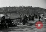 Image of German civilians on east bank of Mulde River Grimma Germany, 1945, second 48 stock footage video 65675073903