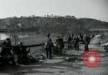 Image of German civilians on east bank of Mulde River Grimma Germany, 1945, second 49 stock footage video 65675073903
